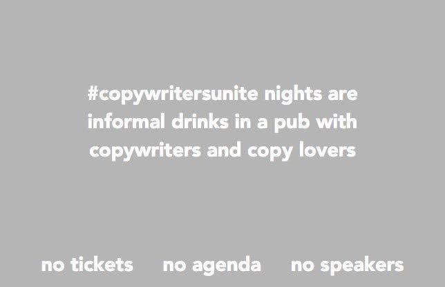 #copywritersunite